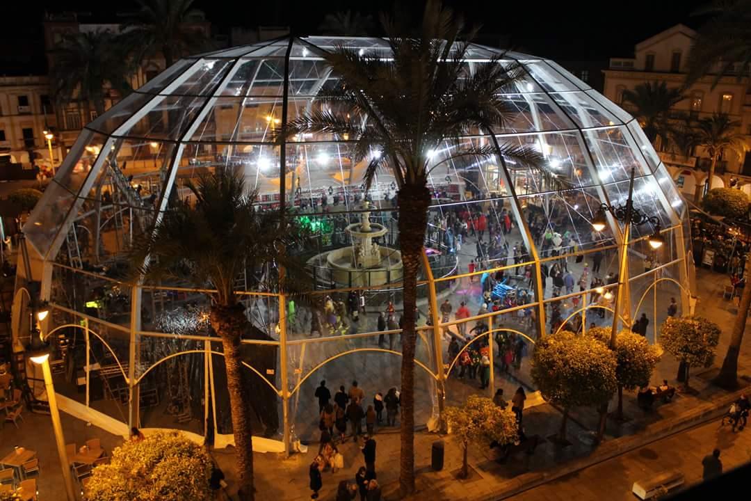 """""""La instalación de la carpa de Carnaval ha cumplido todo el procedimiento que exige la ley"""""""