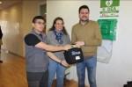 Ochenta trabajadores municipales emeritenses realizan un curso sobre cómo utilizar desfibriladores