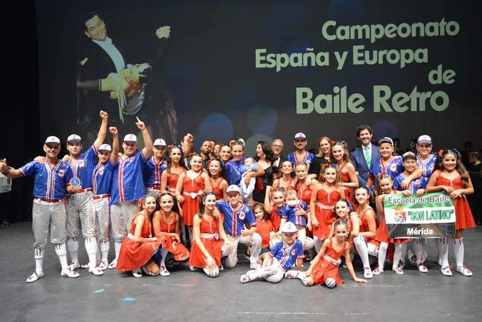 Son Latino y Club de Baile Deportivo Minerva se proclama campeón de Europa en formaciones de baile