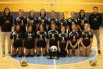 Las infantiles del F.D Mérida de Voleibol en los cuartos de final del Campeonato de Extremadura