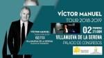 Víctor Manuel actuará el 2 de febrero en el Palacio de Congresos de Villanueva