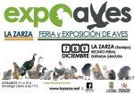 La Zarza. EXPOAVES Feria y Exposiciones de Aves del 7 al 9 de diciembre