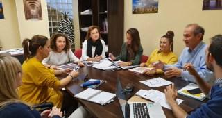 Reunión con asociaciones que trabajan en San Lázaro en el marco de la Estrategia DUSI