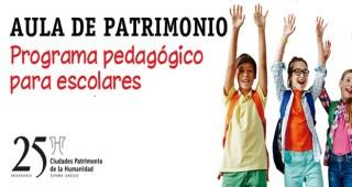 Un nuevo concurso para escolares de Mérida busca dar a conocer las Ciudades Patrimonio de la Humanidad de España