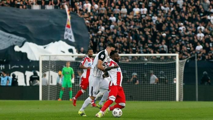 Partizan, Partizan – Crvena zvezda 1:1 (KRAJ)
