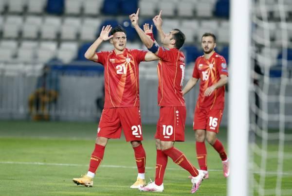 Fudbaleri Makedonija