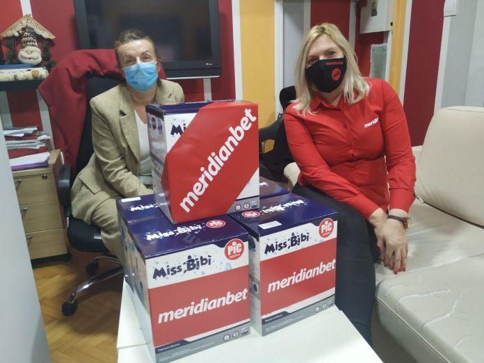 Meridianbet: pomoć Sigurnoj kući u Nikšiću