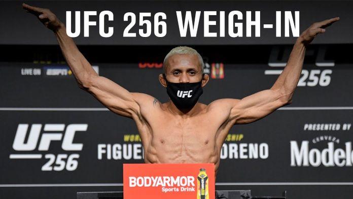 ufc 267 weigh in