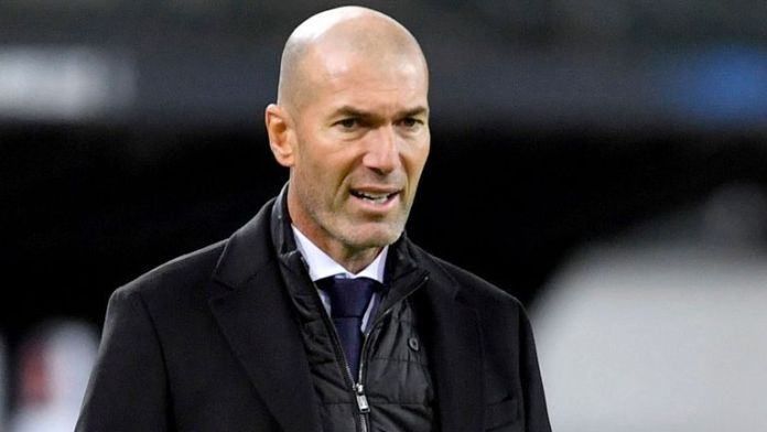 Real Madrid Zinedine Zidan