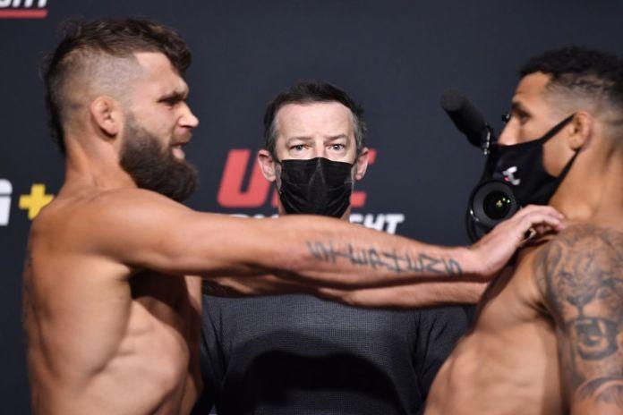 UFC on ESPN 22 suočavanje