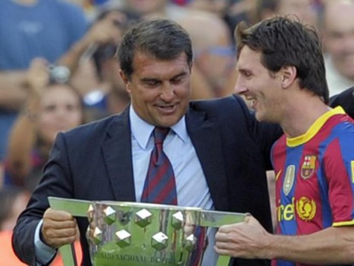 Messi, LAPORTA QUIERE A MESSI EN EL CLUB