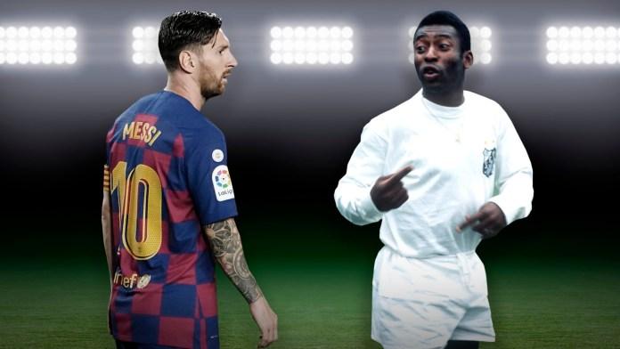 Lionel Messi Pelé, RÉCORD DE PELÉ QUE MESSI IGUALÓ