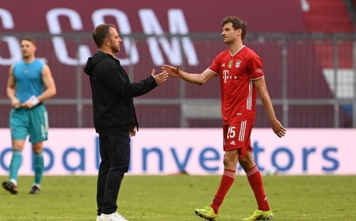 Bayern Union Berlin, EL BAYERN IGUALÓ CON UNION BERLIN