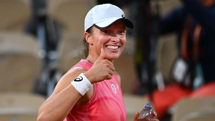 Swiatek Roland Garros, SWIATEK A CUARTOS DE ROLAND GARROS