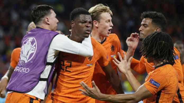 Países Bajos Ucrania, PAÍSES BAJOS SE QUEDÓ CON LA VICTORIA