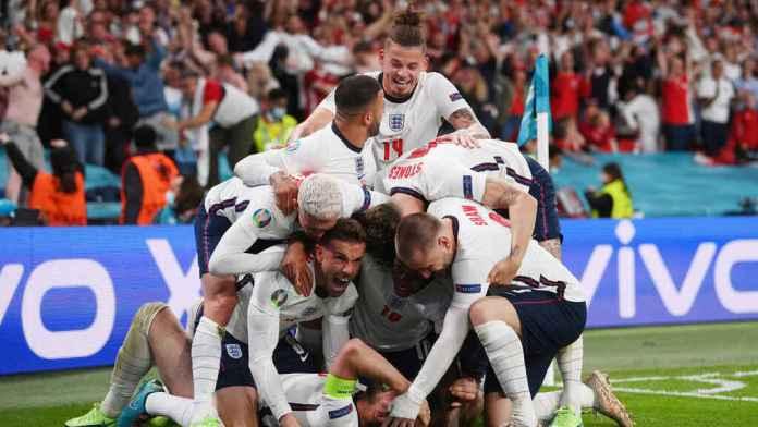 Inglaterra Dinamarca, INGLATERRA LLEGA A LA FINAL EN WEMBLEY