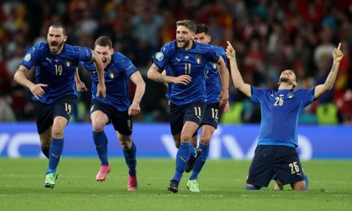 Italia España, ITALIA ES FINALISTA EN LA EUROCOPA