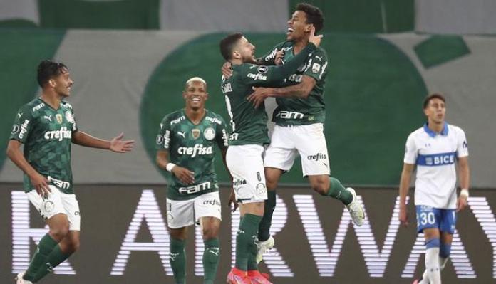 Palmeiras Católica, PALMEIRAS A PASO FIRME EN LA LIBERTADORES