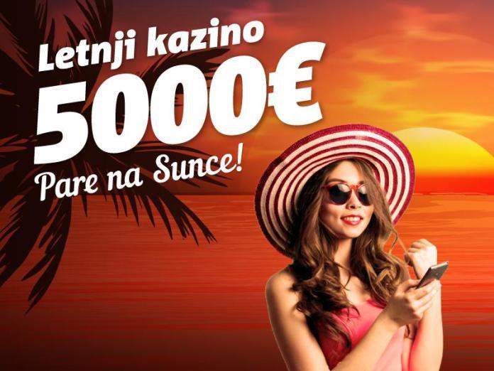 Letnji kazino pare na sunce