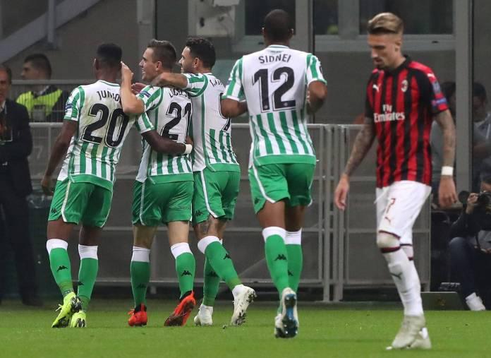 Liga Evrope Betis Milan