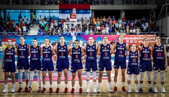 košarkašice srbije-olimpijske igre-evropsko prvenstvo