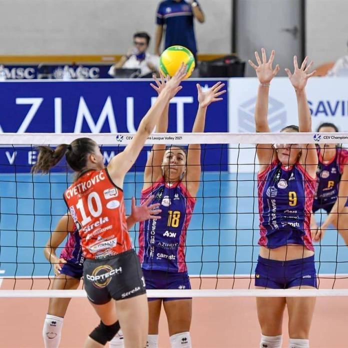 ŽOK TENT 1/8 finala kupa CEV