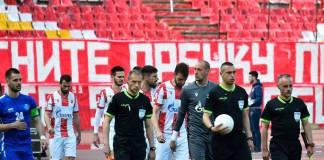 crvena zvezda-radnik surdulica-kup srbije-rezultat-golovi-transparent-navijači