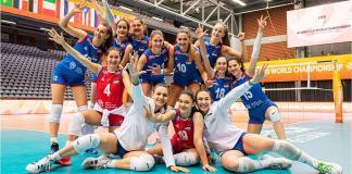 odbojkašice-juniorsko svetsko prvenstvo