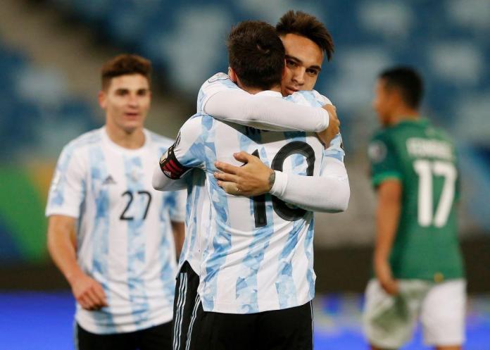 lautaro martinez-lionel mesi-argentina-kolumbija-rezultat-kopa amerika-italija-prijateljska utakmica