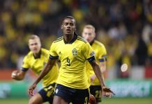 fudbal - svedska-spanija-isak aleksander