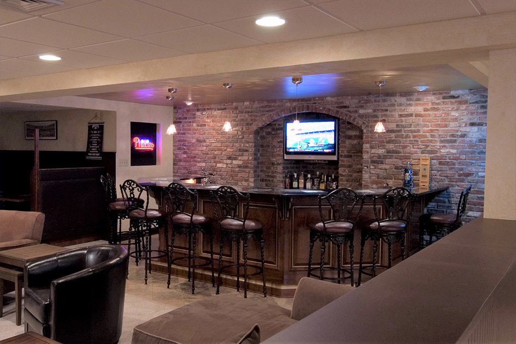 Sports Bar Basement in Blue Bell PA  Meridian