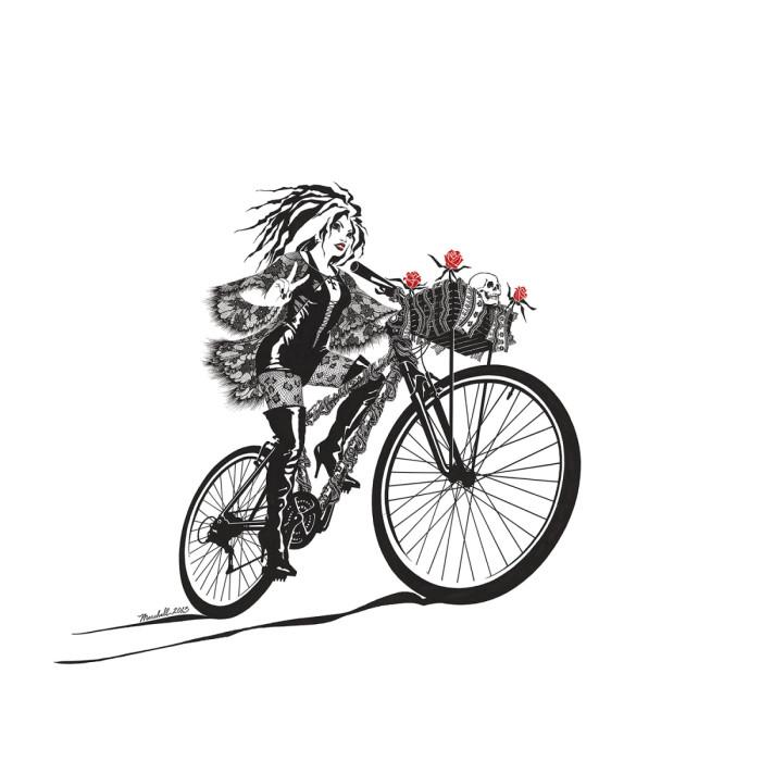 Goth Girl Bike – Orr Marshall