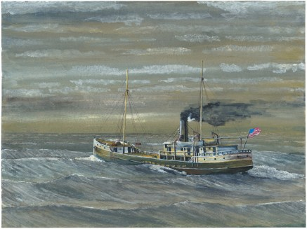 John A. Doerner – A Ship with No Name. This ship represents a typical hybrid powered schooner built during the transition from wind power to steam. Even after the pure steamship arrived in the late 19th century, windjammers continued to be built and put in service well into the 20th century.
