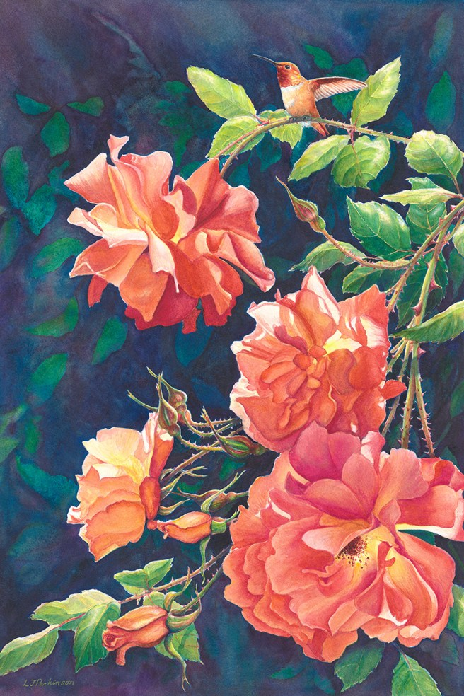 Summer Joy – by Linda Parkinson, Limited Edition print from original watercolor.