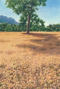 Alan Sanborn, watercolor, 2012.
