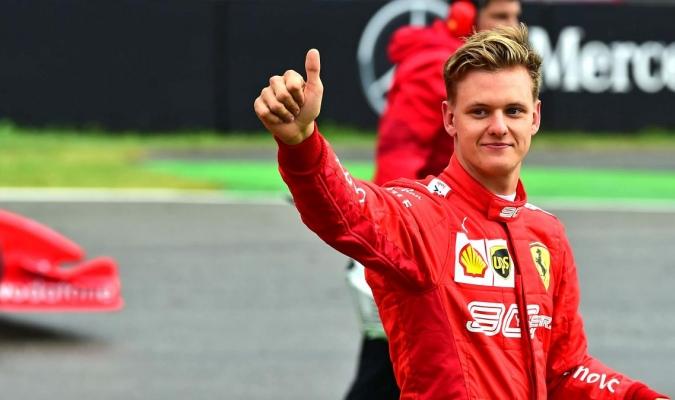 Mick está por proclamarse campeón de la Formula 2 / foto cortesía