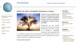 Psicoinfertilidad - alerta y fertilidad