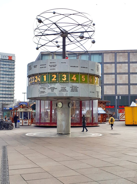 Orologio astronomico Alexanderplatz - Berlino