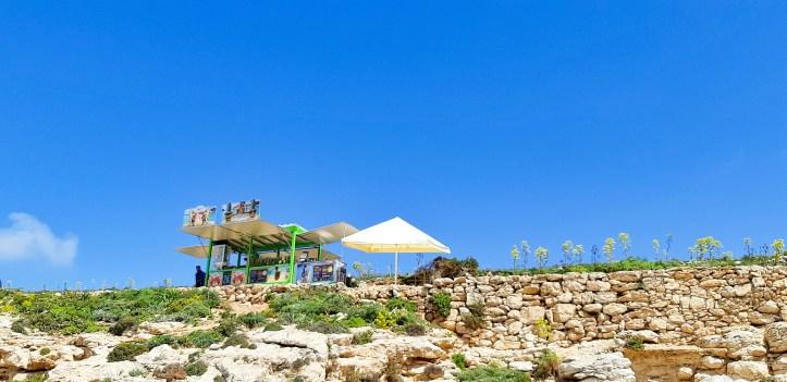 Blue Lagoon COMINO _Malta.-CHIOSCO- FRUTTA