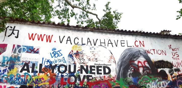Muro di John Lennon - Praga