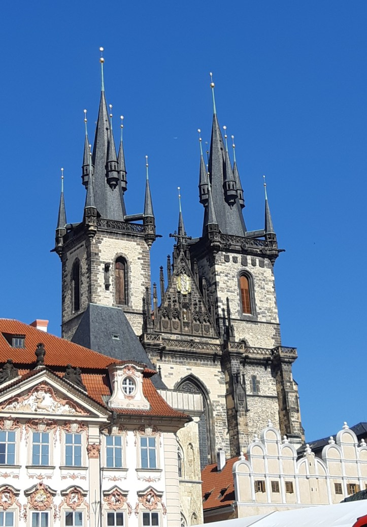 Chiesa di Maria Vergine di Týn - Praga.jpeg