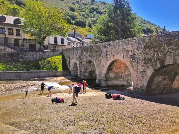 Cammino Francese - Ponte