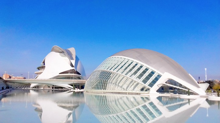Città delle arti e della scienza _ Valencia