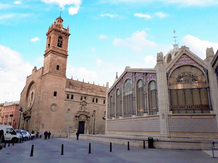 Valencia - centro storico - mercado central - 4