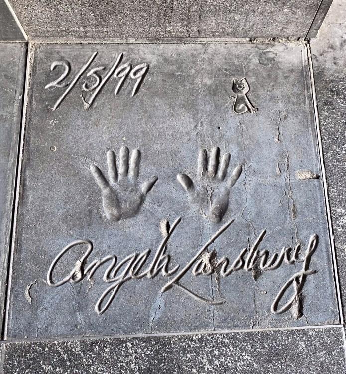 Milano nascosta - Walk of Fame - Angela Lansbury