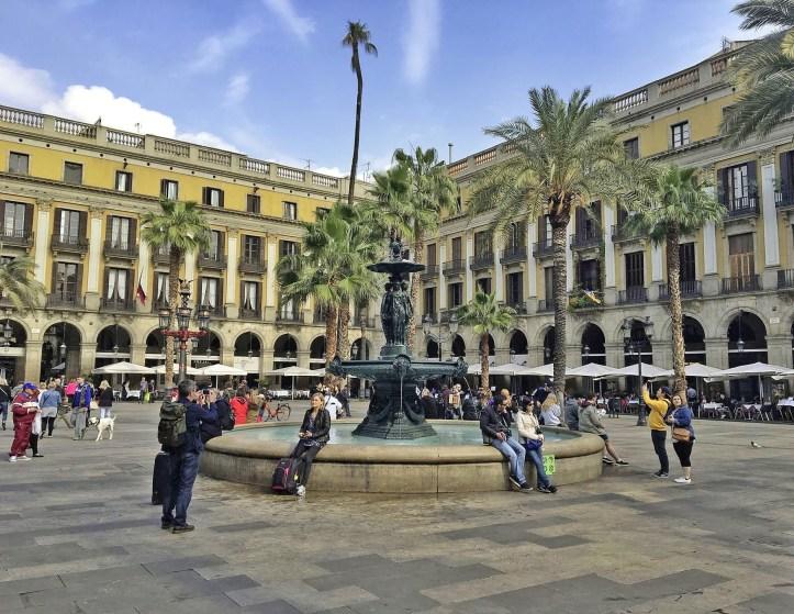 Plaça-Reial-Barcellona