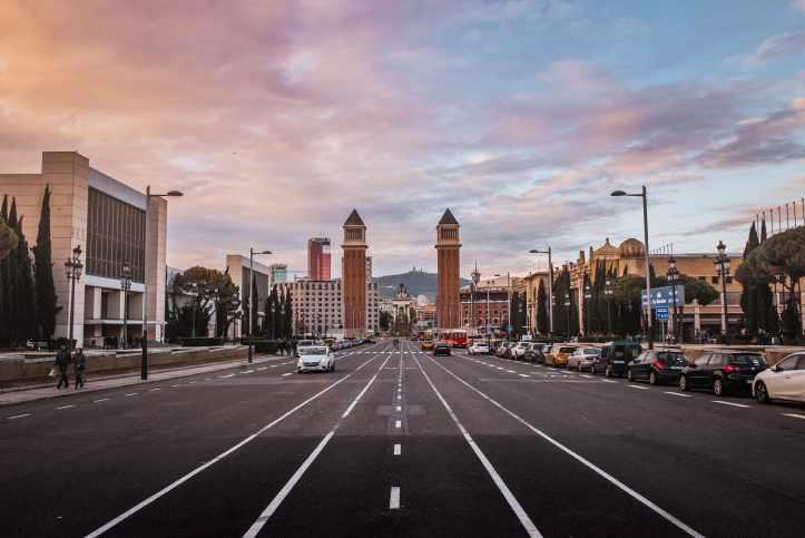 Plaza-de-Espana-Barcellona