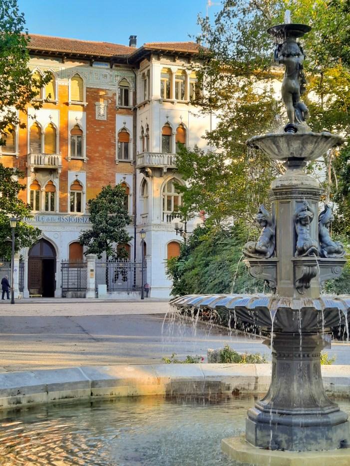 Giardini-pubblici-Gorizia-fontana
