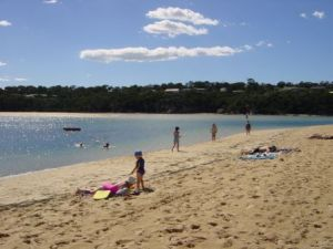 Merimbula Lake Beach