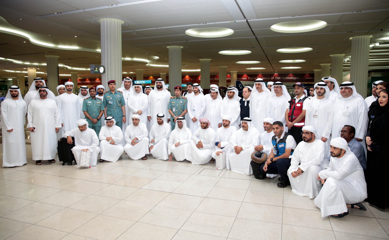 استمرار توافد الحجاج عبر مطار دبي